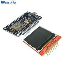 Kit de développement ESP8266 avec écran d'affichage TFT, affichage d'image ou de mot par carte Nodemcu, bricolage, CH340, CH340G, Module WIFI NodeMcu V3