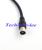 5 unid/lote Digital Freeview 30 dBi DVB-T TV HDTV amplificador de la señal antena con TV Plug conector macho
