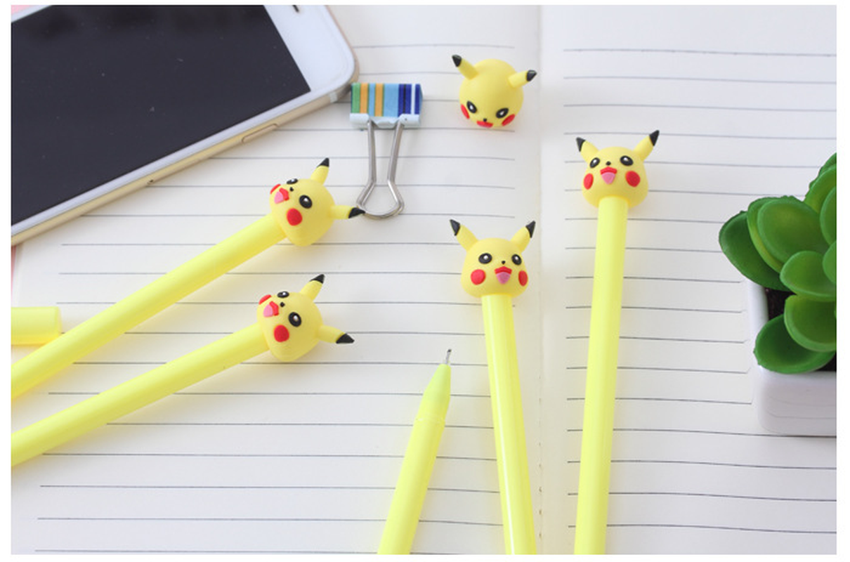 caneta neutra kawaii material escolar caneta para 05