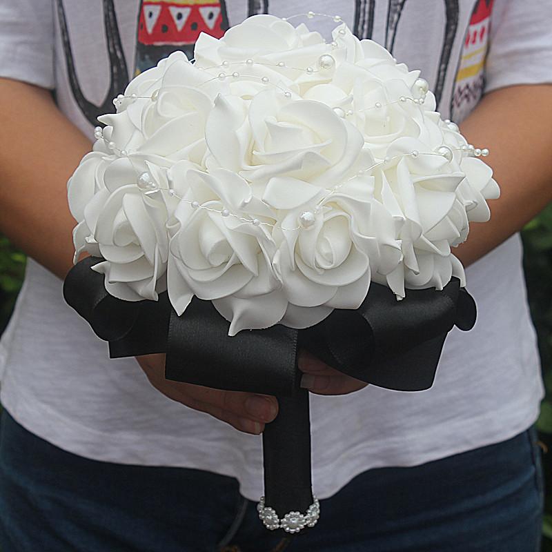 Foam Bridal Bouquet 12