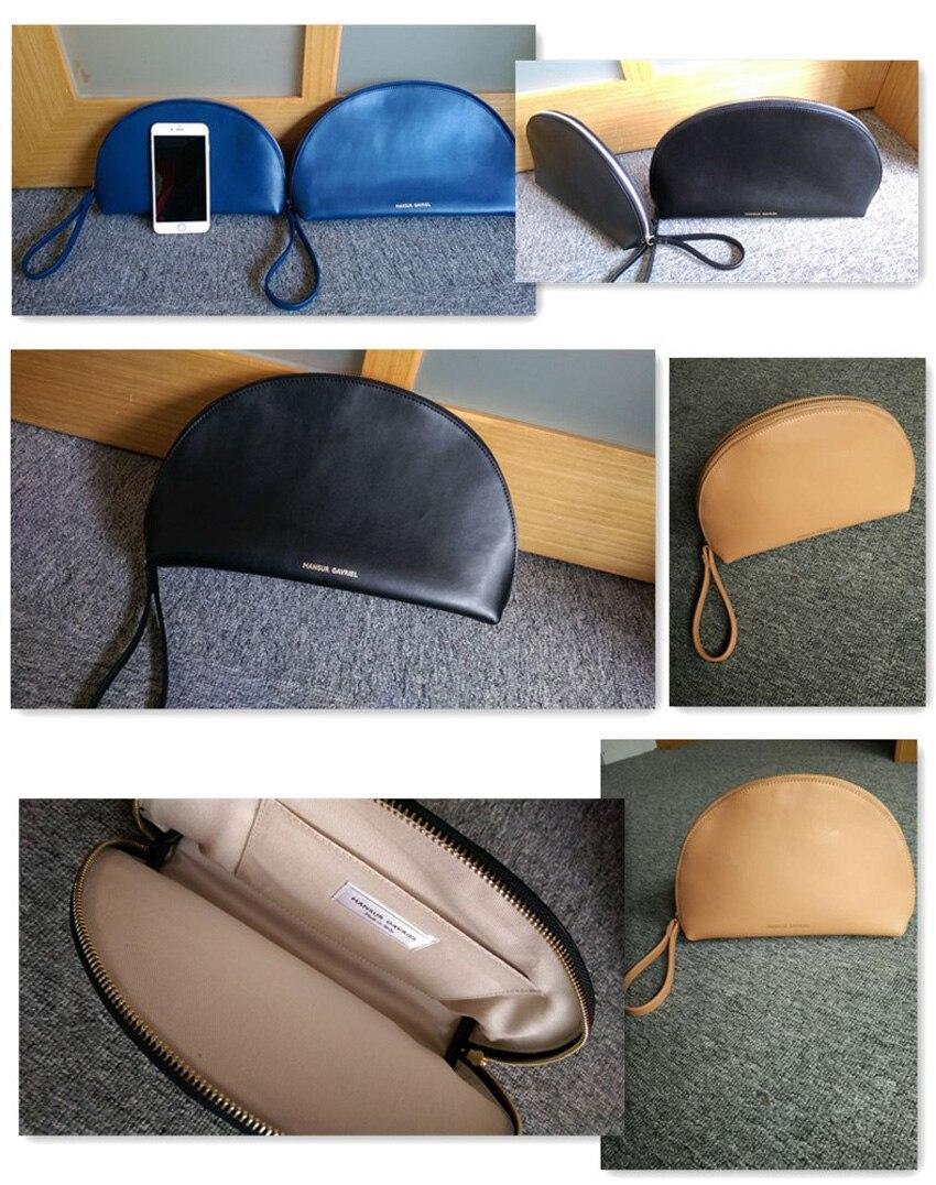 Bolso Lady media y Mansur bolsos para cuero genuino clutch Bolso mujer Bolso carteras Real Evening luna equipaje Gavriel en de de de xq8rg8WS7w