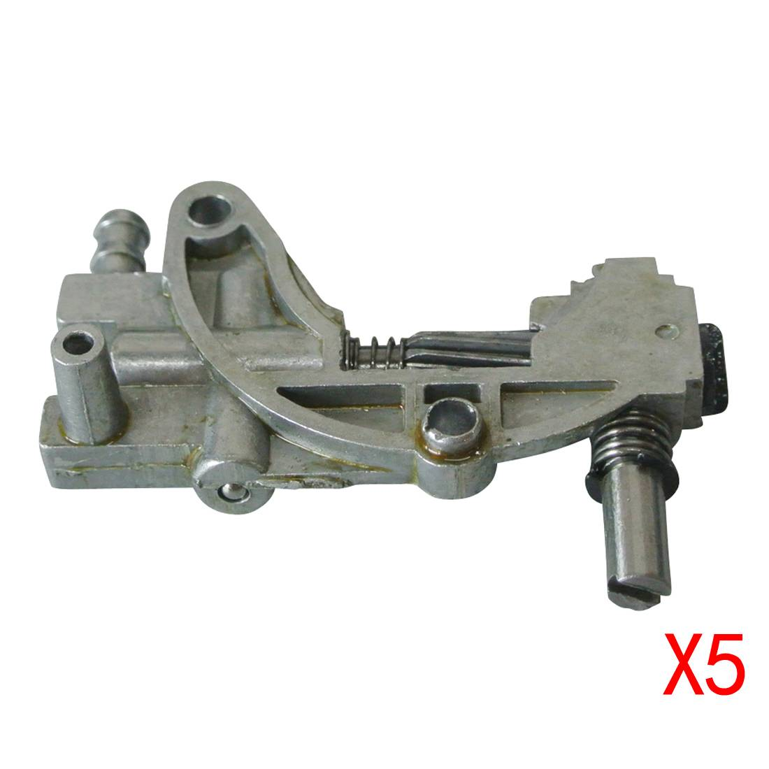 5X OIL PUMP FOR Chinese CHAINSAW 4500 5200 5800 45CC 52CC 58CC