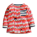 Fall Spring Baby Boys Blouse Printed Kids T-shirt Soft Cotton Children T Shirt Long Sleeves Single Pocket Boys Clothes (1-6 Yrs)