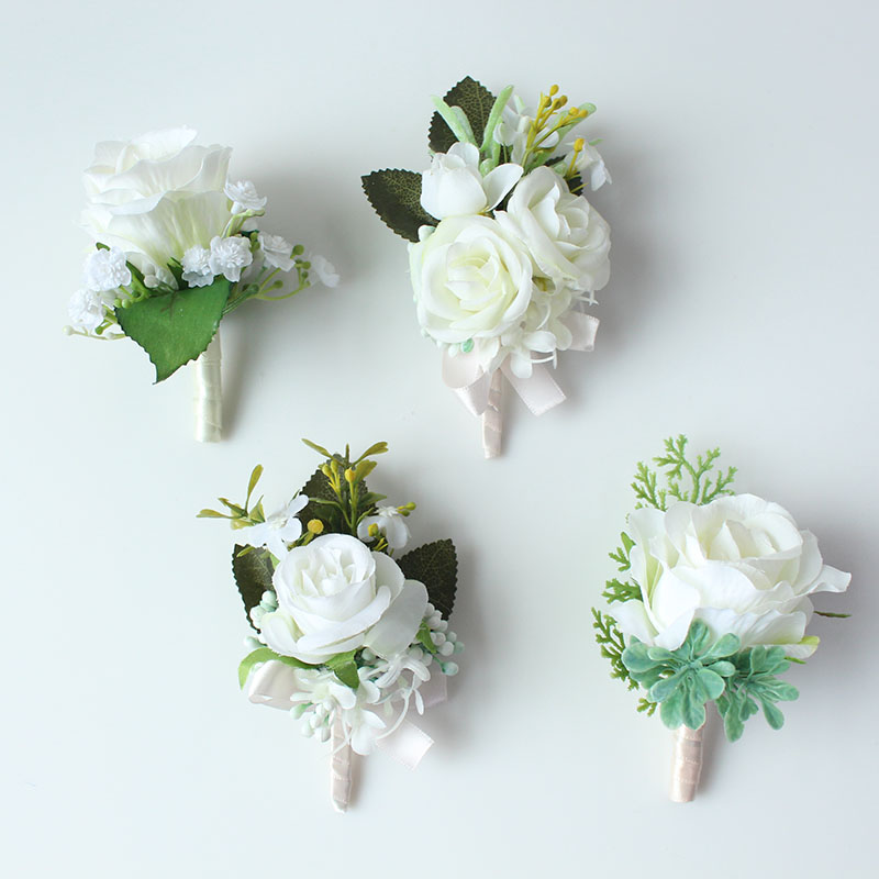 wedding boutonniere corsage groom  (9)