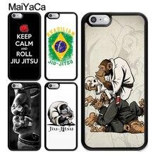 MaiYaCa BJJ Brazilian Jiu Jitsu Sport TPU Case For iphone XS MAX X XR 6S 6 7 8 Plus 5s SE Cover Rubber Phone Cases