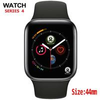 44mm Sport Smart Watch Men For IOS apple watch iphone Android phone with Heart Rate Monitor Blood Pressure Fitness Tracker