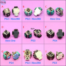 Repair Part 3D Analog Thumbsticks Joystick Stick Module Rocker For Xbox ONE Xbox360 Controller PlayStation 2 3 4 PS2 PS3 PS4 hothink replacement for sony playstation 2 ps2 slim scph 90008 90004 9000x drive motor engine spindle repair part