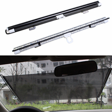 50/58/45*125cm Auto Retractable Side Window Car Sun Shade Curtain Windshield Sunshade Shield Cover Mesh Visor for Cars