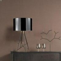 Современный минималистский личность настольные лампы творческий Алюминиевый четыре вилка лампа исследования гостиной спальне свет стол.
