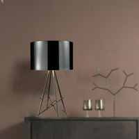 Modern minimalist personality table lamps creative aluminum four fork lamp research living room bedroom table light .