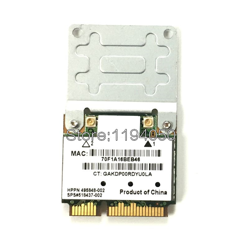 Atheros AR9280 AR5BHB92 Dual-Band 2.4GHz And 5GHz 802.11a/b/g/n 300Mbp Wireless Wifi Mini Pci-e Card  Wifi Modules