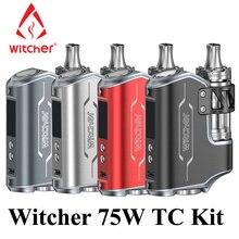 Electronic Cigarette Witcher E Cigarette Vape Pen 75W Box Mod Kit Vaporizer E Hookah VS iStick Pico eVic VTC Mini Topbox X2067