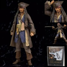 Flexible Captain Jack Car Decoration Car Ornaments Interior