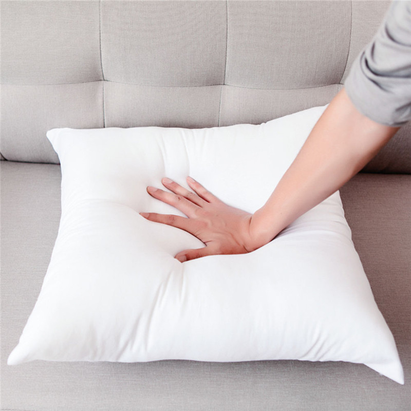 45*45cm White polyester Square Sleep Cushion Insert Decorative <font><b>Pillows</b></font> Insert Form Vacuum compression package