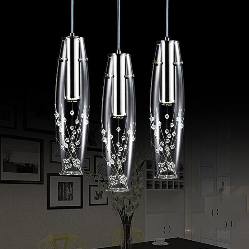 Fesselnd Moderne Kurze Elegante 15 Watt LED Kristall Kronleuchter 3 Köpfe  Rechteckige Platte Trommel Licht Freies Verschiffen Kronleuchter Beleuchtung  In Moderne ...