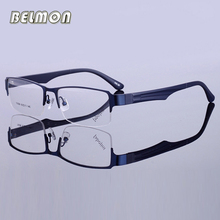 Belmon Optical Spectacle Frame Men Eyeglasses Computer Myopia Transparent Clear Lens Glasses For Male Eyewear RS737