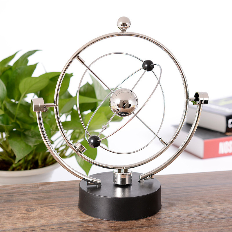 Kinetic Orbital Desk Decoration Celestial Magnetic Swing Decoration Newton Rotating Electromagnetic Pendulum Physical Model resonance demonstrator of the pendulum physical experimental equipment single pendulum ball