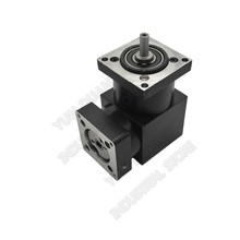 16 :1 Right Angled Planetary Speed Reducer Gearbox 90degree Angle Reversing Corner 8mm 6mm input for NEMA23 57mm Stepper Motor 57mm planetary gearbox geared stepper motor ratio 10 1 nema23 l 56mm 3a