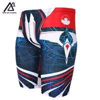 Life On Track Summer Men Swim Jammers Quick Dry Swimwear Trunks Tauruswim Sports Suit Sportwear Short Swimsuit