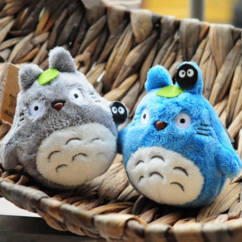 Mini My Neighbor Totoro Plush Toy New Kawaii Anime Totoro Keychain Toy Stuffed Plush Totoro Doll Toy For Children Gift