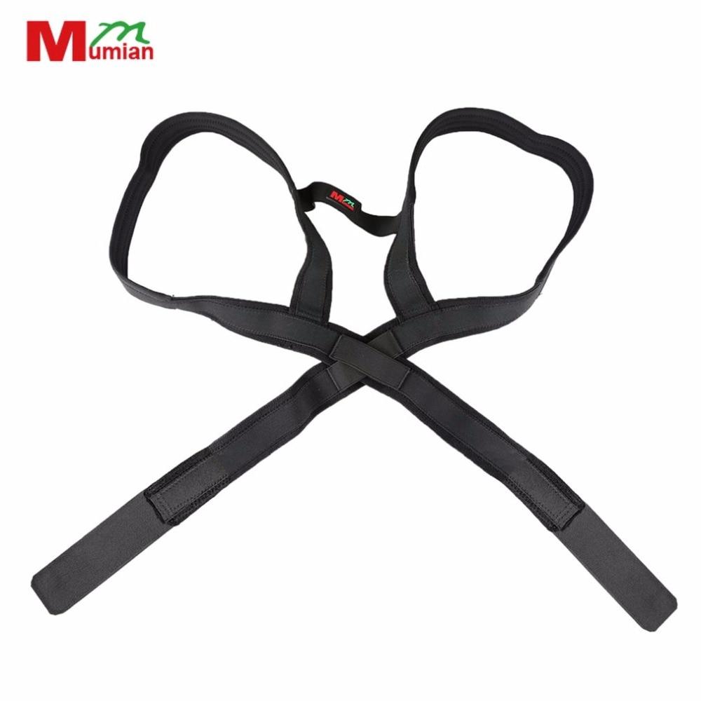 Mumian Adjustable Breathable Back Posture Corrector Brace Men Women Comfortable Shoulder Back Support Belt Correction Belt