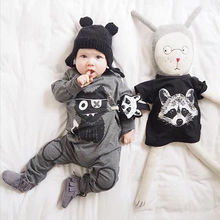 2016 New baby boy girl clothes long sleeve rompers newborn cotton Jumpsuit Playsuit infant clothing 0-24M