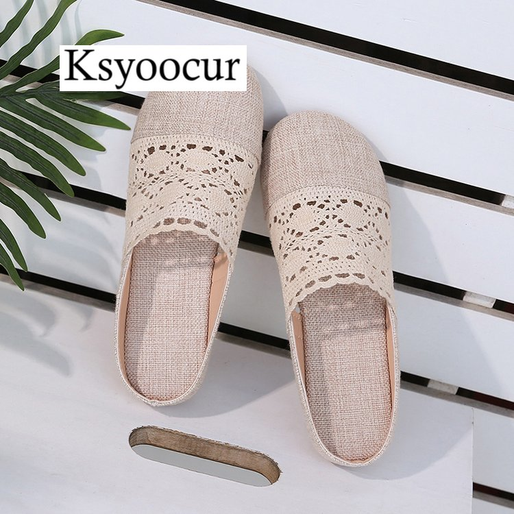 Brand Ksyoocur 2020 New Ladies Slippers Shoes Casual Women Shoes Comfortable Spring/autumn/summer Women Slippers Shoes X02 4
