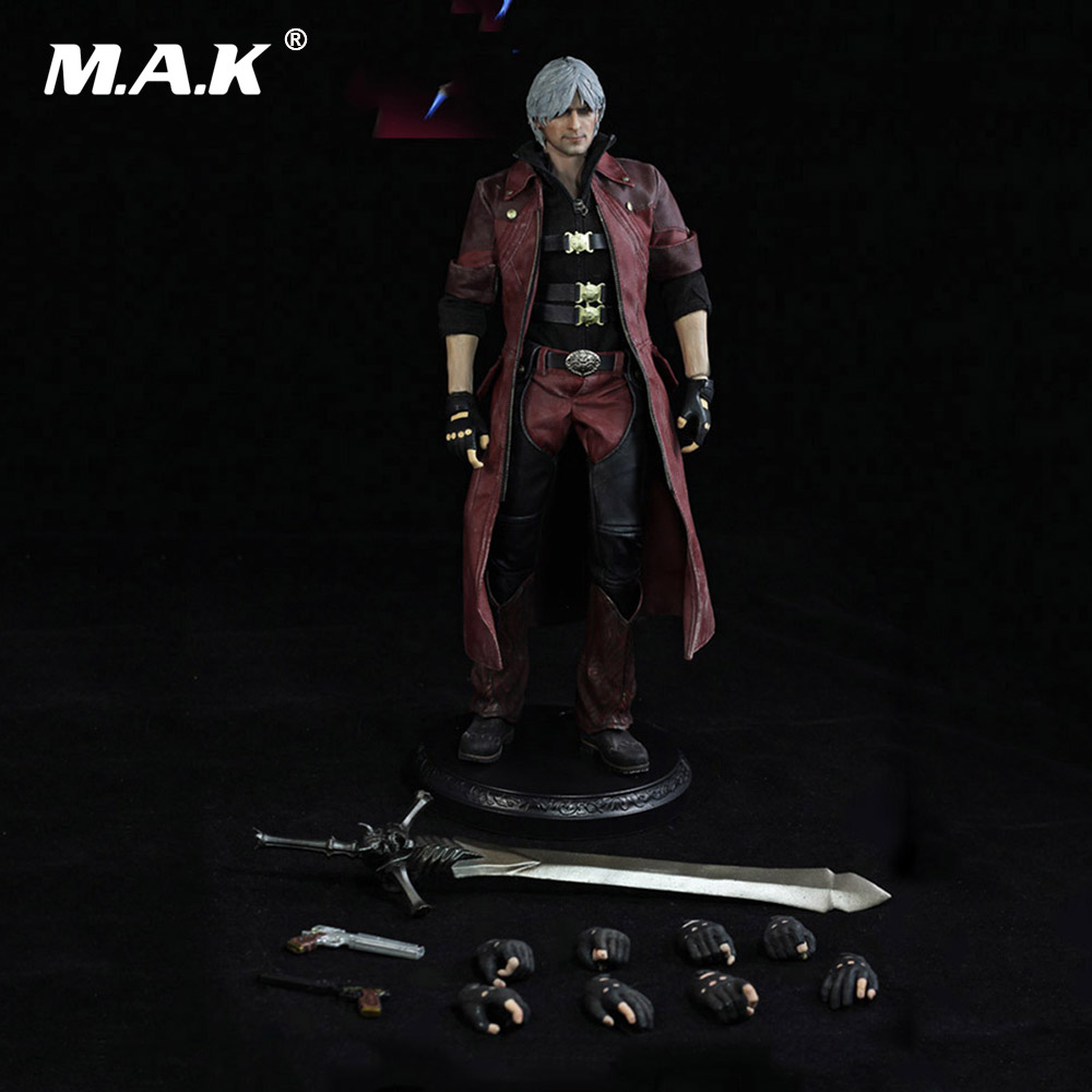 1/6 Scale Full Male Action Figure DMC001 The Devil May Cry series The Dante Regular Ver. Figure Model Toys for Collection Gift devil may cry ultimate dante 7 action figure neca alastor instock ne031001