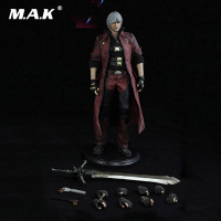 1/6 Scale Full Male Action Figure DMC001 The Devil May Cry series The Dante Regular Ver. Figure Model Toys for Collection Gift