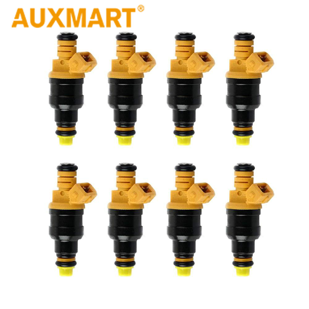8Pcs Fuel Injectors For Ford F150 E-250 Excursion Mustang 0280150556