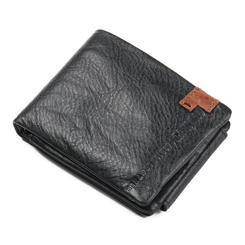 Fashion Cow Leather Men Wallets Short Wallet Purse Card Holder Male Coin Pocket Money Bag Small  Wallets Clutch Bags Carteira Lahore