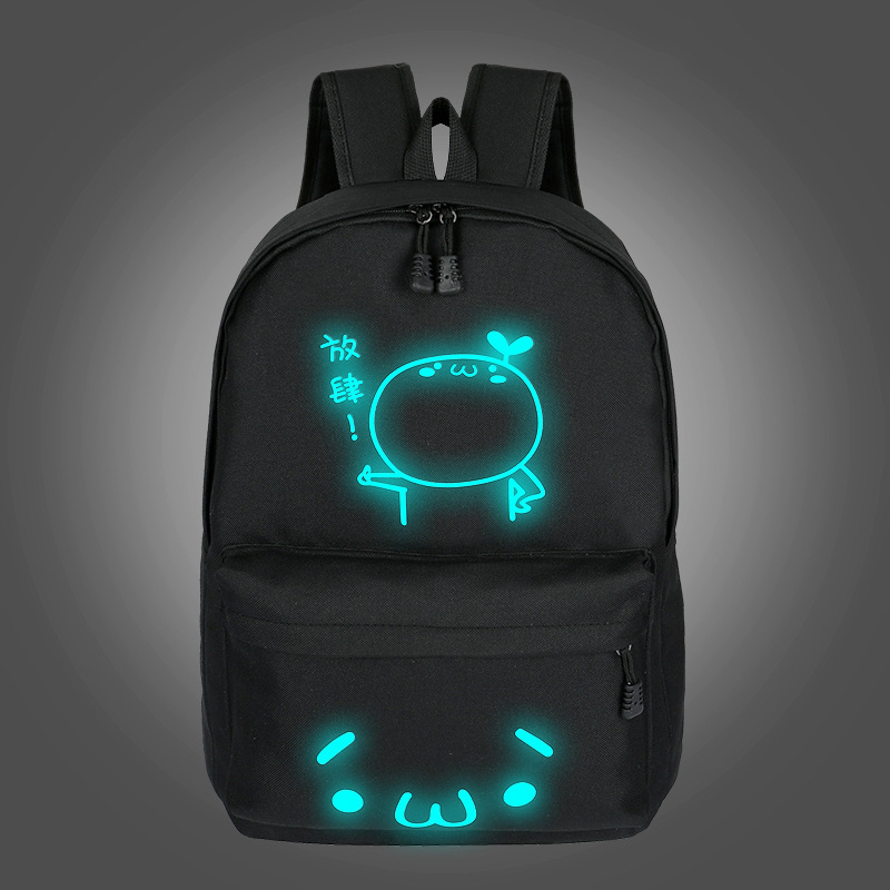 2019 School Backpacks For Teenage Boy Girls Luminous Cartoon Bag Schoolbag Bag For Teenagers Student Cute Cat Backpack to School