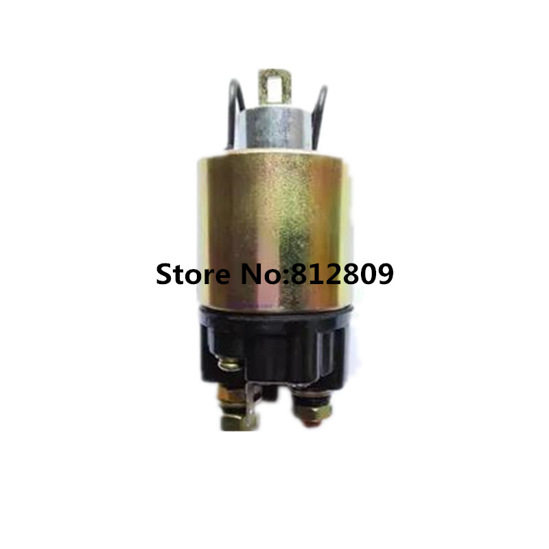 Square solenoid switch electric relay diesel engine parts 170F 173F 178F 186F 186FA starting motor relay electromagnetic switch 170f 178f 186f 188f 192f engine parts the starter motor two choice please check rotation of the starter