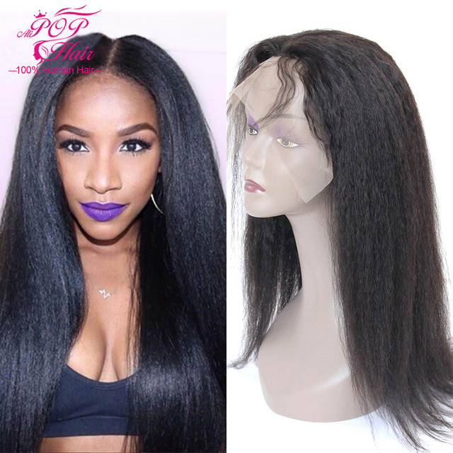 Indian Remy Lace Front Wigs 7A Glueless Full