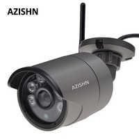 AZISHN Wifi IP Kamera 720 p/960 p/1080 p Verdrahtete drahtlose Yoosee Sicherheit Wifi Metall Outdoor CCTV kamera Unterstützung Sd-karte Bis Zu 128 gb