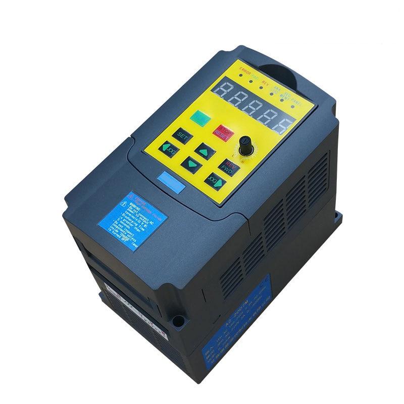 CE VFD frequency inverter VF Motor frequency converter 220V 0.4kw 400W 2.7a vfd110cp43b 21 delta vfd cp2000 vfd inverter frequency converter 11kw 15hp 3ph ac380 480v 600hz fan and water pump