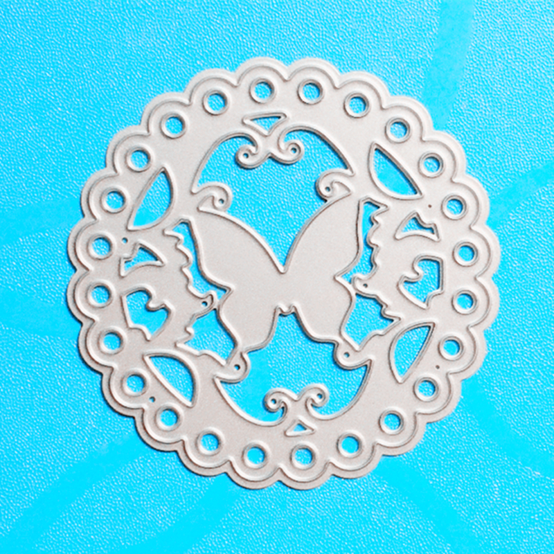 Ylcd648 Angel Wind Metal Cut Cutting Dies Mold Tool for Scrapbooking Scrapbook Stencils Handmade Diy Craft Album Cards Decoration Embossing Folder Die Cuts Templat