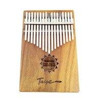 17 Key Kalimba Mbira Calimba African solid Mahogany Thumb Piano Finger Christmas Instrument Gift For Music Lovers