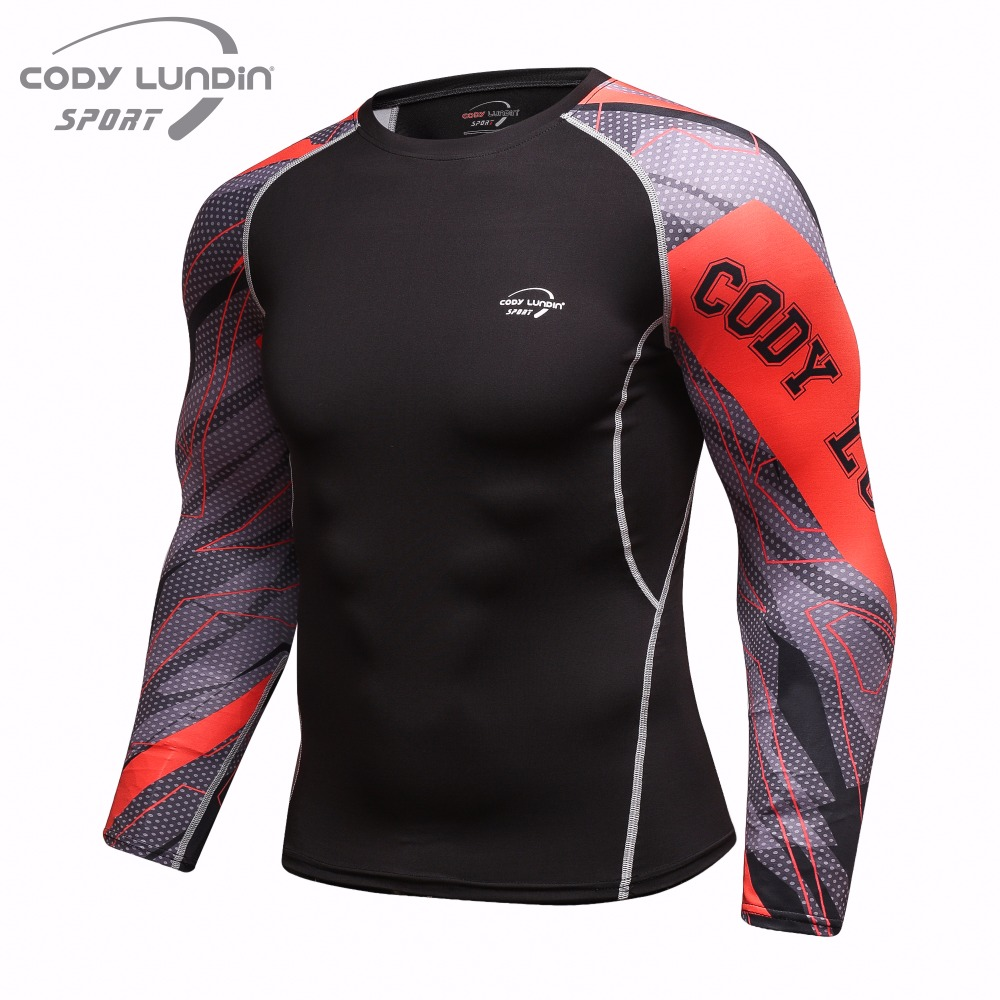 Deporte Ropa 3 Más Manga Bodybuild Llegada De 7 Nueva 9 Dry Camisa Larga 3d Crossfit Tamaño 4 10 6 Colorquick 8 1 5 Compresión 2 Camiseta W0zUUvn