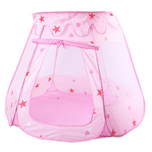 Kids Ocean Ball Pit Pool Toys Outdoor and Indoor Baby Toy Tents Baby Girls Fairy House Playhut Tent Princess Play Tent cheap JOCESTYLE Polyester CN(Origin) NONE no eating 0-12 Months 13-24 Months 2-4 Years 5-7 Years 6 years old 8 years old 3 years old