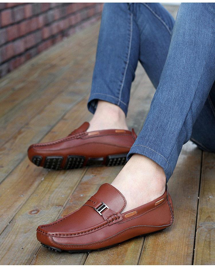 HN 1128 (8) Men`s Casual Loafers Shoe