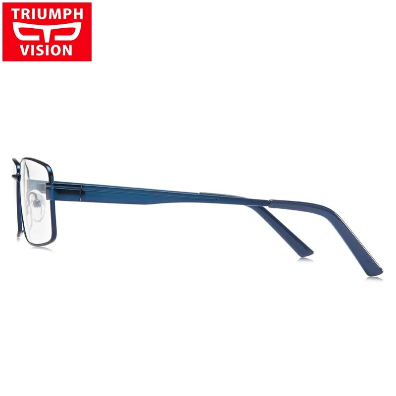 Computer Hohe Vision Rezept Metall Blau Männer Für Qualität Lesebrille Brillen Myopie Triumph Platz C4 qwtfRzgz4