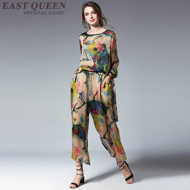 2018 Ff1251 Pantaloni Pezzi 2 Signore A Pantalone 1 Due Donne Delle Top Abiti Tailleur Set E Femminile qSPg1