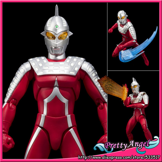 Japan Anime Original Bandai Tamashii Nations <font><b>Ultra-Act</b></font> <font><b>UltraMan</b></font> <font><b>Action</b></font> <font><b>Figure</b></font> - <font><b>Seven</b></font> 2.0