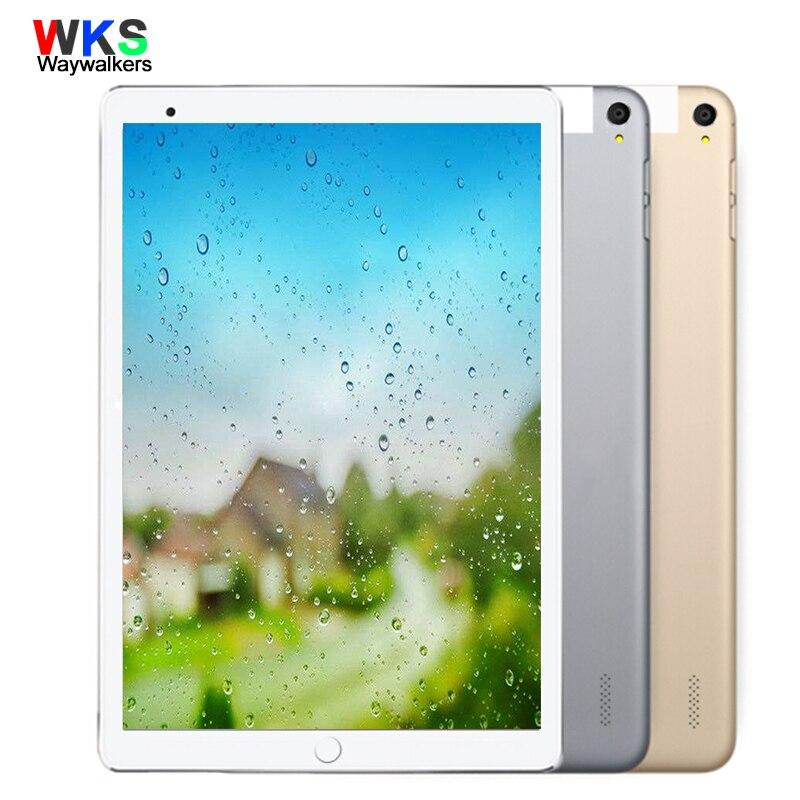 Android 7.0 Tablet PC 10.1 pouce Déverrouiller 4g 3g Appel Téléphonique Double Carte SIM Android Octa Core CE wiFi FM 32 gb 64 gb 1280*800 Comprimés