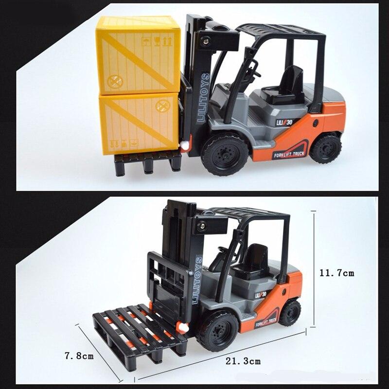 Mini viličar Model Toy inženjering Vozilo Fork Lift Plastični - Dječja i igračka vozila - Foto 6