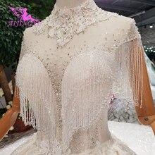 AIJINGYU Đẹp Áo Váy Giá Cả Phải Chăng Áo Dài Cô Dâu Nắp Đặc Biệt Đính Hôn Ireland Đồ Bầu Plus Kích Thước Ren Váy Cưới