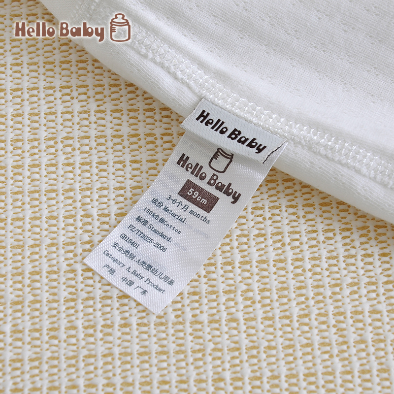 Hellobaby  cotton baby clothing newborn baby underwear spring baby romper summer double-breasted jacket mickey robe