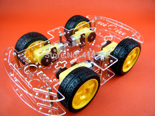 Smart Car Chis 4wd 4 Wheel Drive Force The Chronological Magnetic Motor