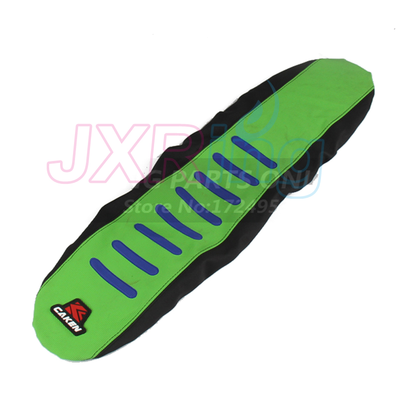 Green Gripper Soft Seat Cover For Kawasaki KX450F KXF450 KX 450F 12-16 Motocross Enduro Motorcycle Supermoto Dirt Bike Off Road